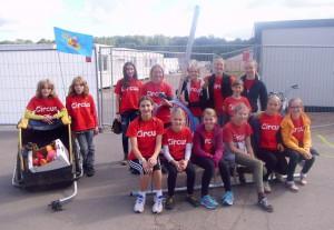 CircusMitFluechtlingskindernVolksfestplatz26Sep2015